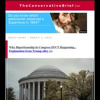 Why Bipartisanship in Congress ISN'T Happening...