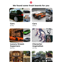 Hi {NAME}! Cars, Luxury Dream Supercars and 12 other boards like yours