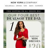 Top 4️⃣ Deals of the Day. Hurry, They Won't Last