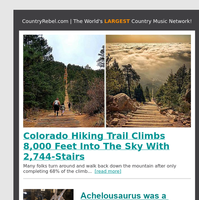 Colorado Hiking Trail Climbs 8,000 Feet Into The Sky With 2,744-Stairs