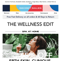 The at-home wellness guide & beauty treats! Up to 75% off