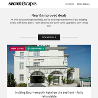 New Arrivals: Fuss-free Bournemouth hotel on the seafront