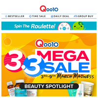 3.3 Beauty Mega Sale! Exclusive bundle deals from skincare to health supplements! CHEAPEST in town! Shop Now!