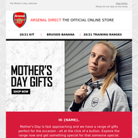 Celebrate Mother's Day with the latest gifts from Arsenal Direct ❤️