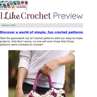 Easy Crochet Patterns – Yours Now!