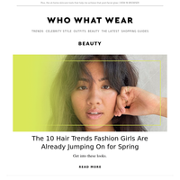 10 hair trends fashion girls are already jumping on for spring