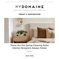 The spring cleaning rules designers always follow