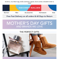 Mother's Day Inspiration + Favourite Brands. Up to 85% off