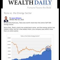 Tesla vs. the Energy Sector