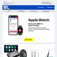Save on Apple Watch with a Health & Safety package from GreatCall.
