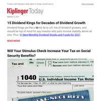 15 Dividend Kings for Decades of Dividend Growth