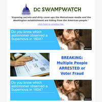 BREAKING: Multiple People ARRESTED or Voter Fraud
