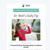6 Powerful Ways Drinking Water Can Boost Health