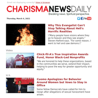 Why This Evangelist Can't Stop Talking About Hell's Horrific Realities | Chick-fil-A's True Inspiration Awards Fund, Honor Black-Led...