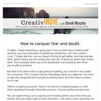 Overcoming your biggest creative challenge