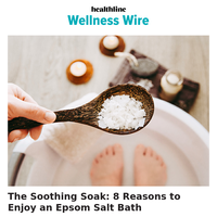 Soothing soaks. Sugar overload. Functional food FAQs.