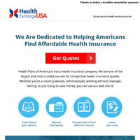 Don't Overpay For Health Insurance