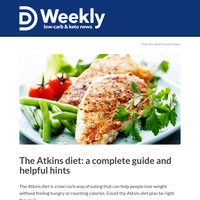 All about the Atkins diet
