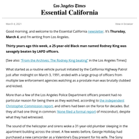 Essential California: 30 years after Rodney King