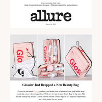 Meet Glossier's Latest Launch: Beauty Bag