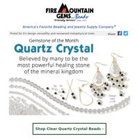 Create with Dazzling Quartz Crystal