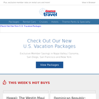 We know travel... We've added new package options.
