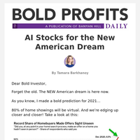 AI Stocks for the New American Dream