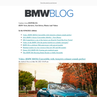 Posts from BMWBLOG for 03/04/2021