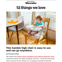 The highchair that is portable and easy to use