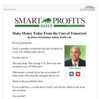 Make Money Today From the Cars of Tomorrow