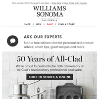 We're celebrating 50 years of All-Clad
