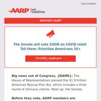 Should the COVID relief bill prioritize Americans 50+?