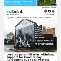 Good Friday Agreement: Loyalist group withdraws support in face of NI Protocol