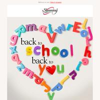5 back-to-school slimming strategies ✏️