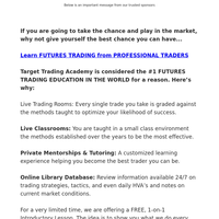 Learn to Trade like a Pro, from a Pro