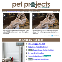 16 Snuggly Pet Beds
