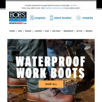 Waterproof Work Boots 🥾💦