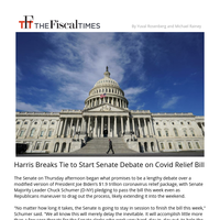 GOP Turns to Delay Tactics to Stall Covid Relief Bill