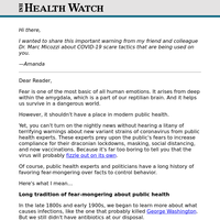 COVID-19: Public health experts rely on fear-mongering over facts