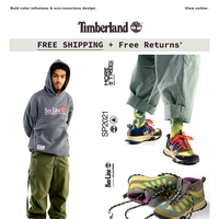 DROPS TODAY: Bee Line x Timberland Spring 21.