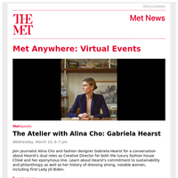 Virtual Events from The Met