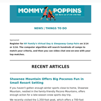 Shawnee Mountain Offers Big Poconos Fun in Small Resort Setting