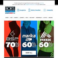 60-70% OFF Leggings & Fleece + Extra 25% OFF