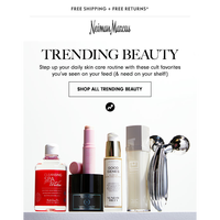 New & trending beauty