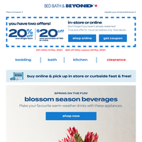 Here are your coupons! Ways to make refreshing spring drinks 🍹