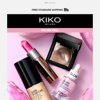 30% OFF on EVERYTHING. Happy Women's Day from KIKO ❤