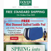 Spring Into the Saddle With New Tack, Apparel & Supplies