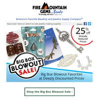 Extra 25% off Big Box Blowout Prices