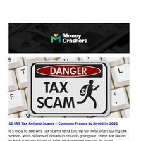 12 IRS Tax Refund Scams -- 9 Best Stocks to Buy Right Now -- What Is Term vs. Whole Life Insurance