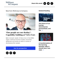 'Our people are our destiny': Capability building at Volvo Cars